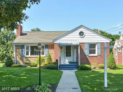 Gaithersburg Single Family Home For Sale: 4 Highland Avenue