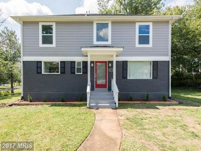 Silver Spring Single Family Home For Sale: 12508 Epping Court