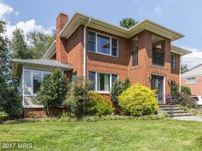 Bethesda Single Family Home For Sale: 5811 Maiden Lane