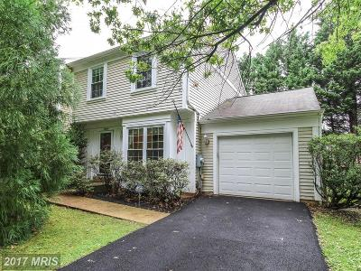 Gaithersburg Townhouse For Sale: 19810 Filbert Drive