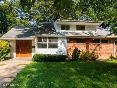 Rockville Single Family Home For Sale: 508 Broadwood Drive