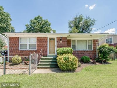 Silver Spring Single Family Home For Sale: 707 University Boulevard W