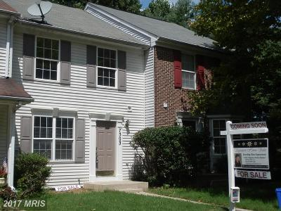 Gaithersburg Townhouse For Sale: 7503 Augustine Way