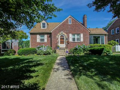 Silver Spring Single Family Home For Sale: 9920 Rogart Road