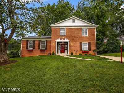 Bethesda Single Family Home For Sale: 9719 Corkran Lane
