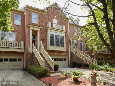 Rockville Townhouse For Sale: 9920 Foxborough Circle