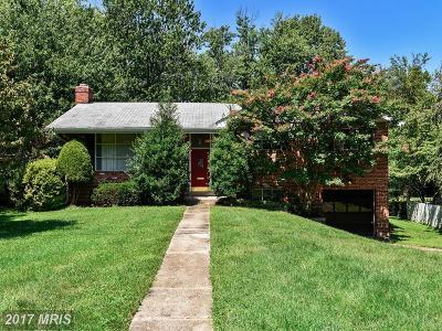 Bethesda Single Family Home For Sale: 6701 Wilson Lane