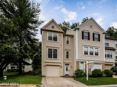 Silver Spring Townhouse For Sale: 14927 Carriage Square Drive