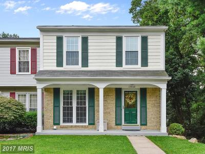 Silver Spring Townhouse For Sale: 12908 Tourmaline Terrace