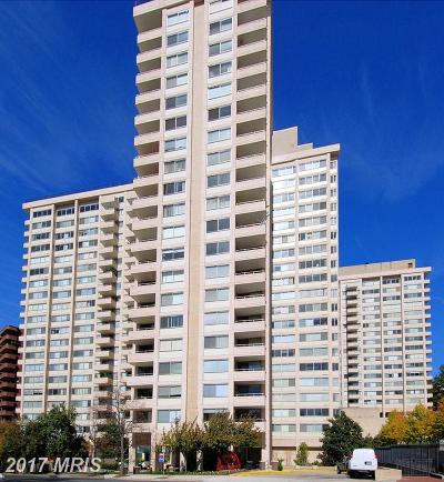 Chevy Chase Condo For Sale: 5500 Friendship Boulevard #2005N