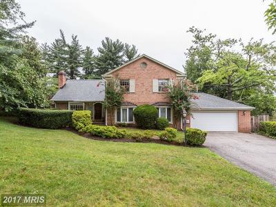 Kensington Single Family Home For Sale: 4017 Glenridge Street