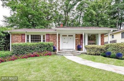 Rockville MD Single Family Home For Sale: $489,900