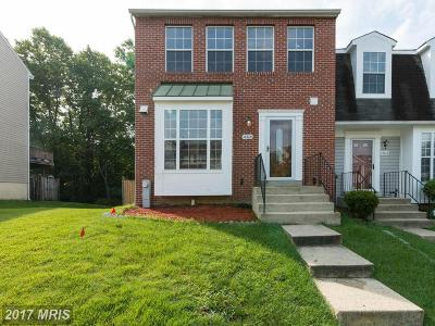 Burtonsville Townhouse For Sale: 14614 McKnew Road