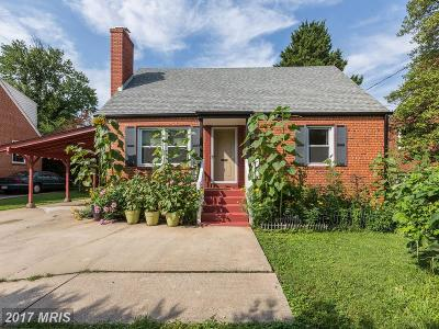 Bethesda Single Family Home For Sale: 9428 Old Georgetown Road