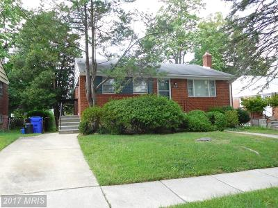 Bethesda Single Family Home For Sale: 9948 Mayfield Drive