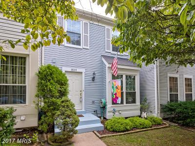 Gaithersburg Townhouse For Sale: 18317 Honeylocust Circle