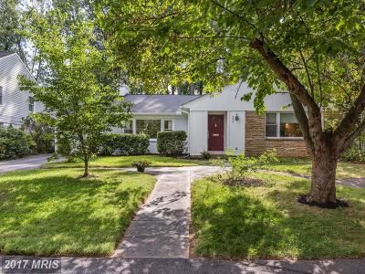 Bethesda Single Family Home For Sale: 5906 Wilson Lane