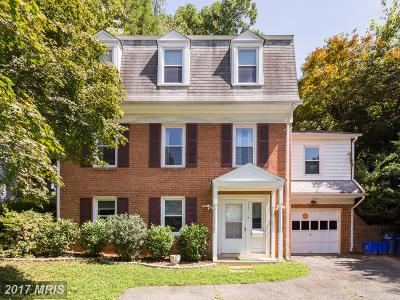 Bethesda Single Family Home For Sale: 5327 Massachusetts Avenue