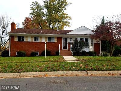 Rockville Single Family Home For Sale: 14219 Clayton Street