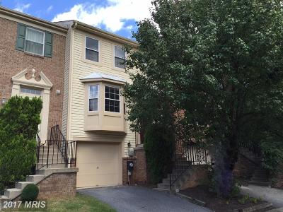 Gaithersburg Townhouse For Sale: 104 Leafcup Court