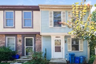 Germantown Townhouse For Sale: 12408 Valleyside Way