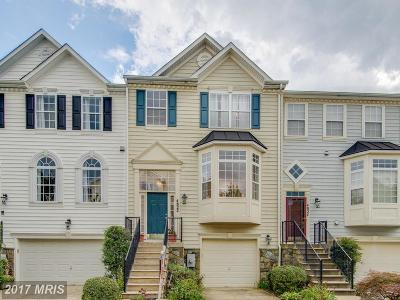 Olney Townhouse For Sale: 4822 Waltonshire Circle