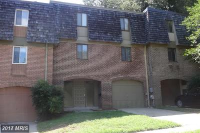 Gaithersburg Townhouse For Sale: 19604 Enterprise Way