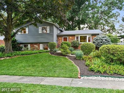 Rockville Single Family Home For Sale: 14210 Dennington Place