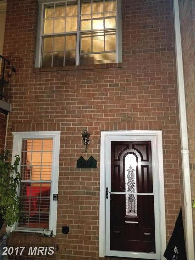 Silver Spring Townhouse For Sale: 1812 Bronzegate Boulevard #176