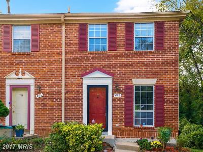Silver Spring Townhouse For Sale: 9128 Glenville Road