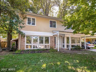 Silver Spring, Wheaton Single Family Home For Sale: 1511 Northcrest Drive