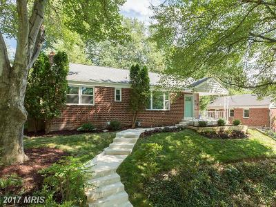 Chevy Chase Single Family Home For Sale: 8417 Donnybrook Drive