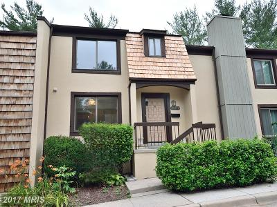 Potomac Townhouse For Sale: 10717 Muirfield Drive