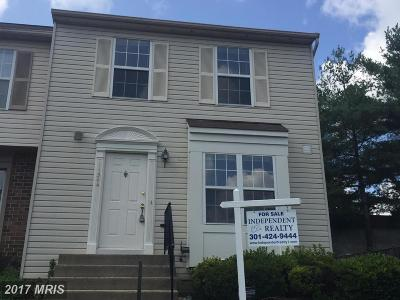 Germantown Townhouse For Sale: 11544 Brundidge Terrace