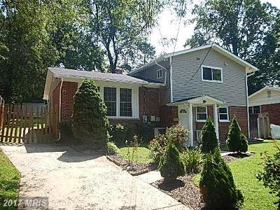 Silver Spring Single Family Home For Sale: 4406 Mahan Road