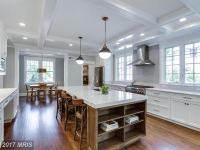 Chevy Chase Single Family Home For Sale: 117 Grafton Street