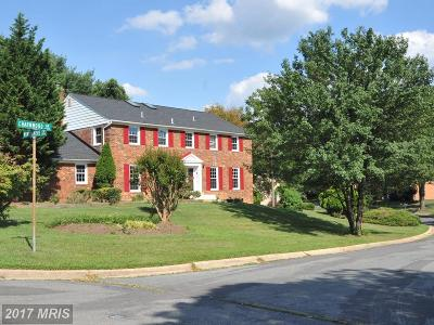Rockville MD Single Family Home For Sale: $1,120,000
