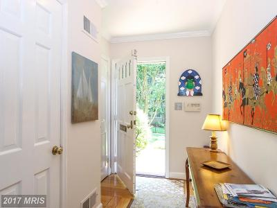 Bethesda Townhouse For Sale: 5105 Westbard Avenue #6