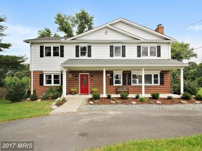 Darnestown Single Family Home For Sale: 13711 Darnestown Road