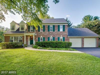 Rockville Single Family Home For Sale: 5213 Continental Drive