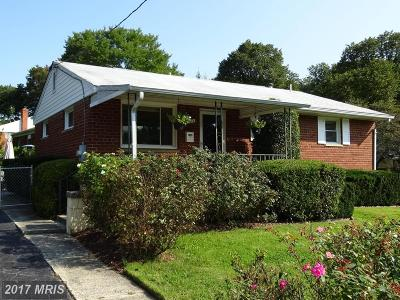Rockville MD Single Family Home For Sale: $445,000