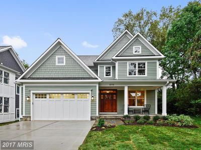 Bethesda Single Family Home For Sale: 5715 Bradley Boulevard
