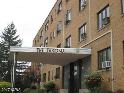 Takoma Park Condo For Sale: 111 Lee Avenue #110