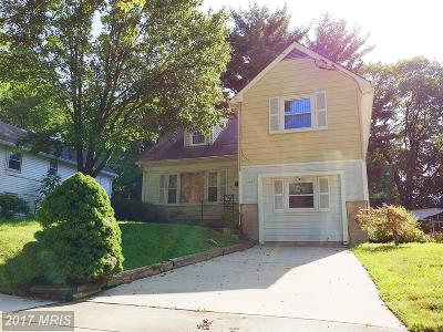 Rockville MD Single Family Home For Sale: $365,000