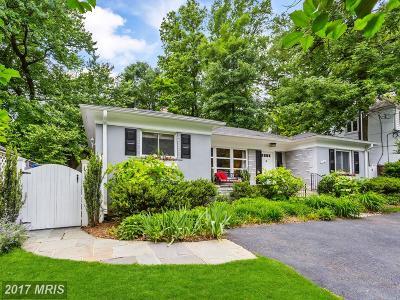Bethesda Single Family Home For Sale: 5712 Massachusetts Avenue