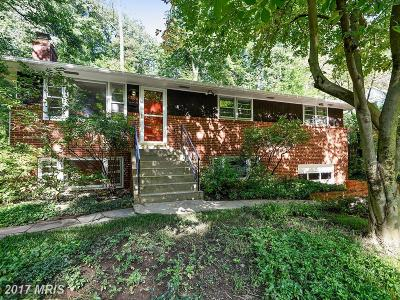 Takoma Park MD Single Family Home For Sale: $619,000