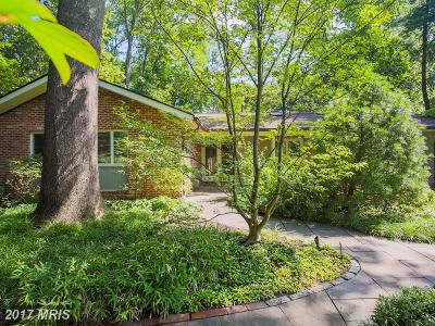 Bethesda Single Family Home For Sale: 8617 Fenway Road