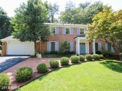 North Bethesda Single Family Home For Sale: 6312 Cameo Court