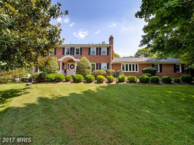 Rockville MD Single Family Home For Sale: $739,900