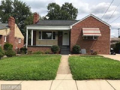 Silver Spring Single Family Home For Sale: 10225 Douglas Avenue